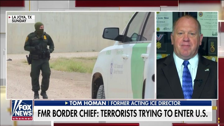 Tom Homan argues the 'open border is a national security crisis' as migrant caravan nears