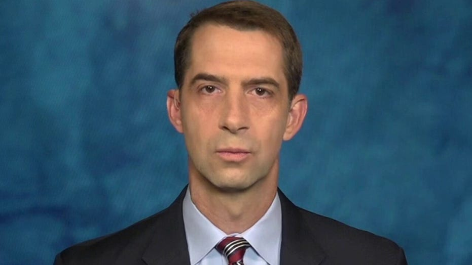 Sen. Cotton: We can not allow leaks to continue to happen in Congress