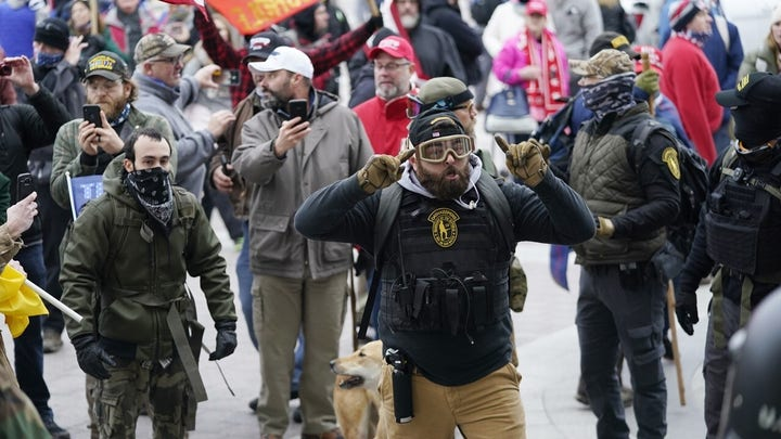 FBI tracking down Capitol riot suspects