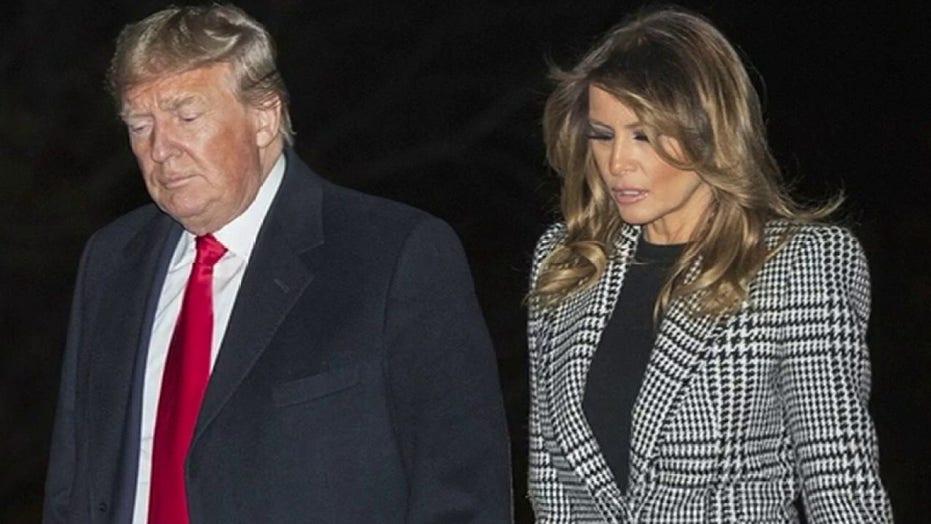 Trump, first lady test positive for coronavirus