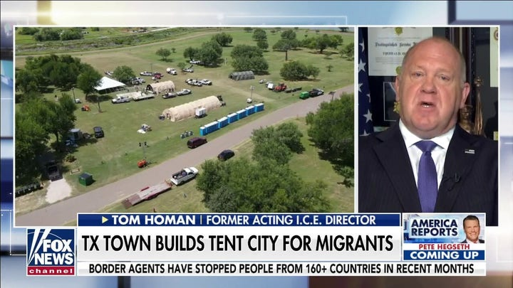Tom Homan: Our country is 'most vulnerable I've seen' on borders