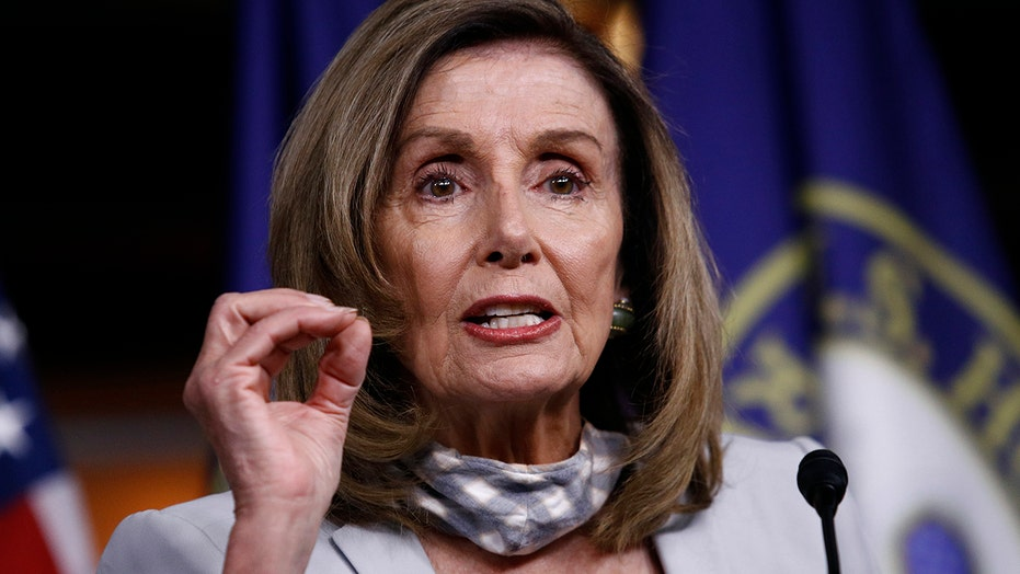 Pelosi calls House members back to Capitol Hill for an emergency meeting on the Postal Service