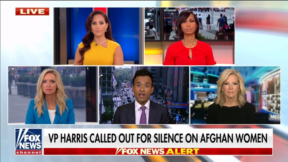 Vivek Ramaswamy calls out Kamala Harris' silence on Afghan women: 'She's totally lost'