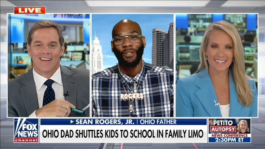 Ohio father shuttles children to school in limo as state grapples with bus driver shortages