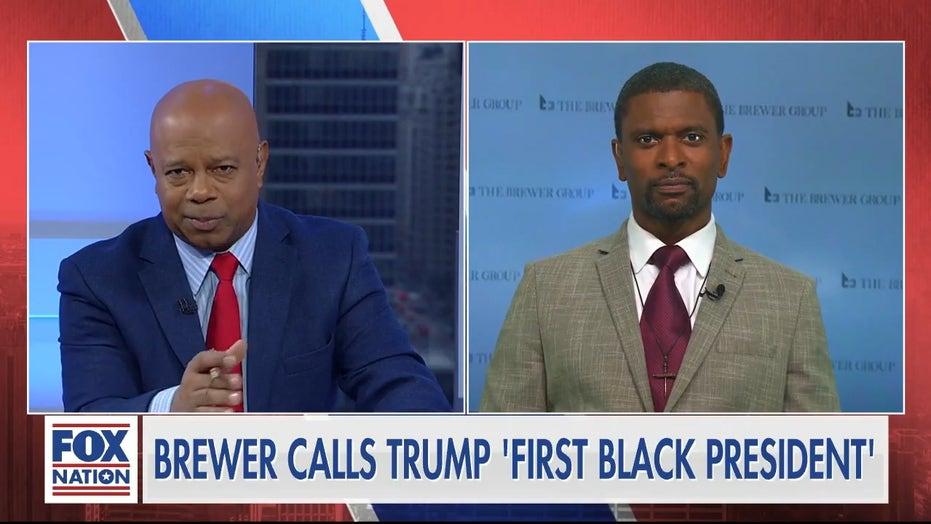 Former NFL star Jack Brewer responds after being called a slur for praising President Trump