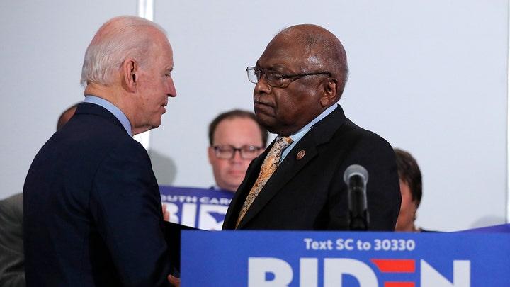 House Majority Whip Jim Clyburn endorses Joe Biden