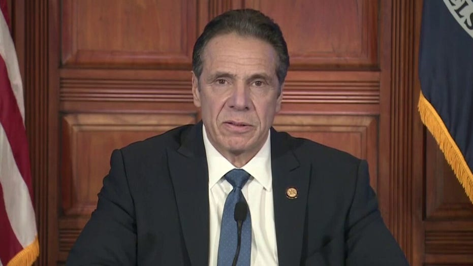 Cuomo blames nursing home scandal on 'political attack' by Trump admin