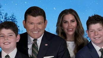 Baier family wishes 'Special Report' viewers a Merry Christmas