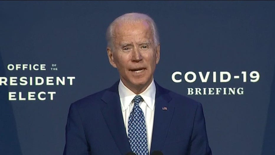Biden urges Americans to wear masks: 'Not a political statement'