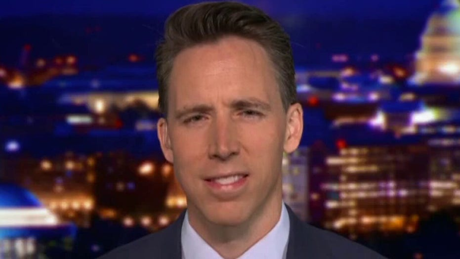 Sen. Hawley excoriates President Biden for weaponizing the DOJ against parents by using FBI to silence them