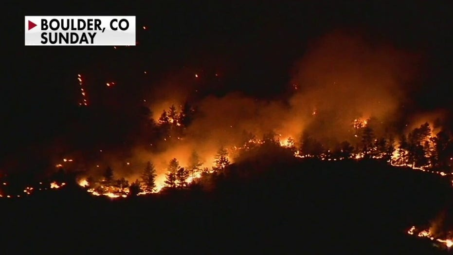 Colorado wildfires force thousands to evacuate, blaze 'just exploded' to 8,700 acres
