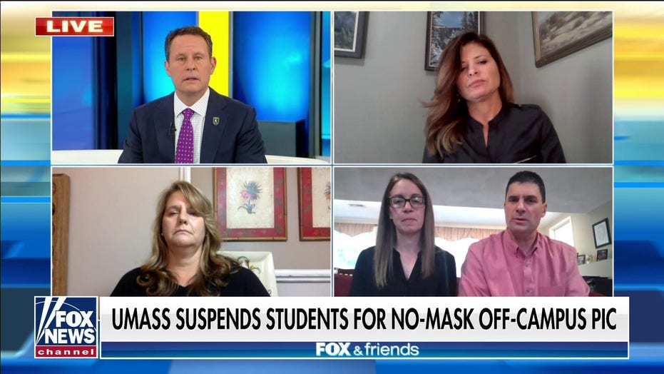 Parents of suspended UMass students: Punishment for off-campus maskless photo 'complete overkill'