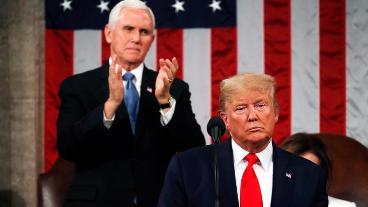 State of the Union contrasts Trump administration's success with Democrats' pettiness