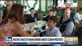 Miami diners call for action as protests continue in Cuba