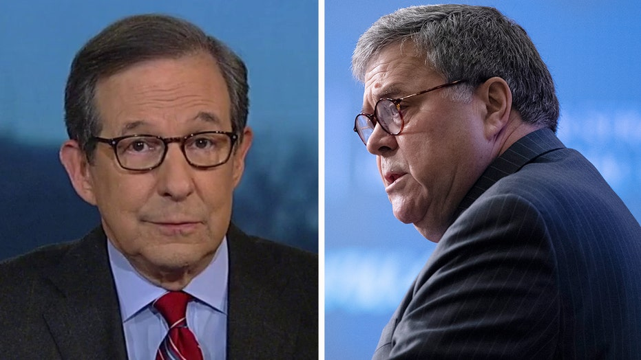 Chris Wallace on Attorney General Bill Barr's plea to President Trump
