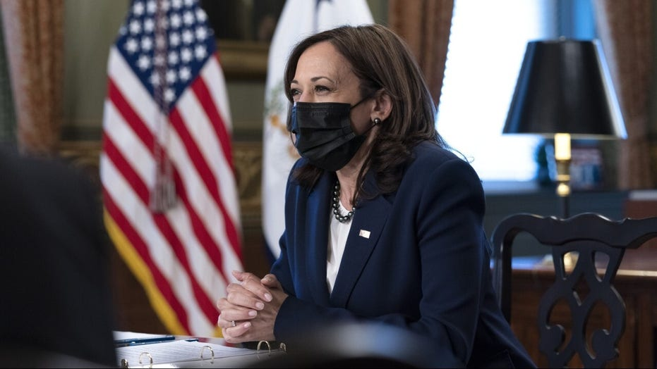 Kamala Harris skips US-Mexico border-security meeting, goes to New Jersey instead