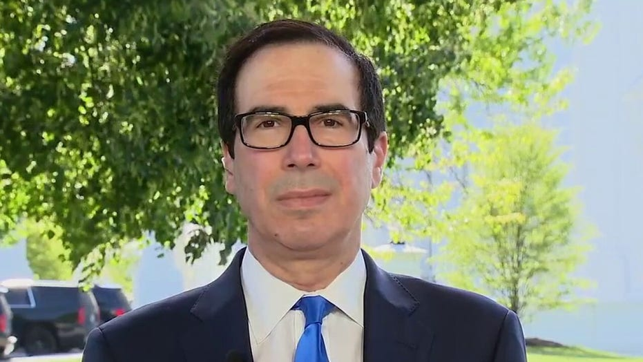 Secretary Mnuchin on lost jobs, toll coronavirus pandemic is taking on US economy