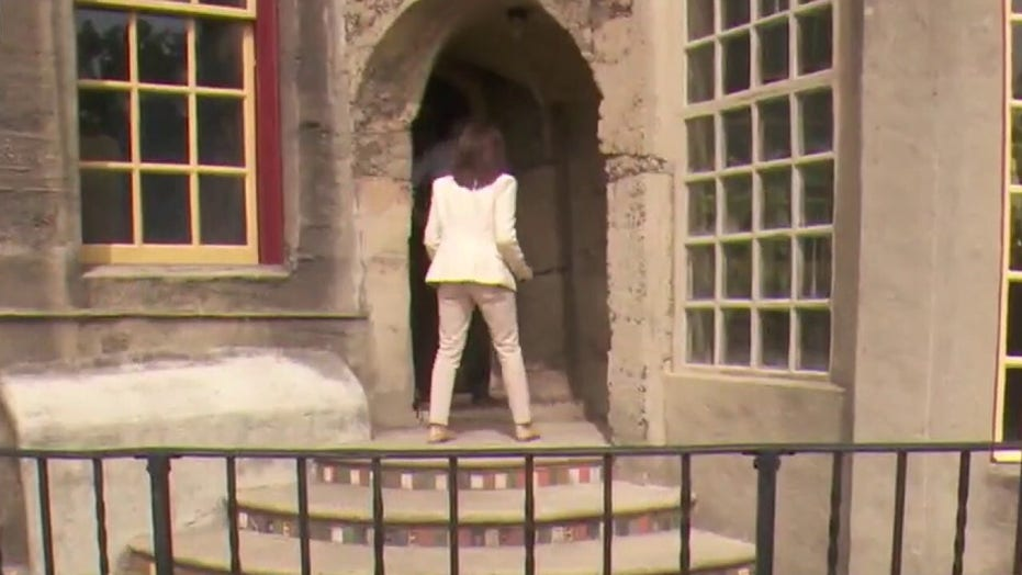Judge Jeanine Pirro explores castle owned by the real 'Monopoly Man' in new Fox Nation series