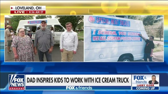 Ohio dad buys ice cream truck for special needs kids