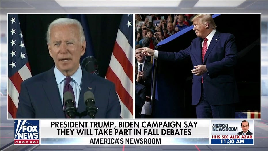 'Sheer hypocrisy': Howard Kurtz on calls for Joe Biden to skip debates with President Trump