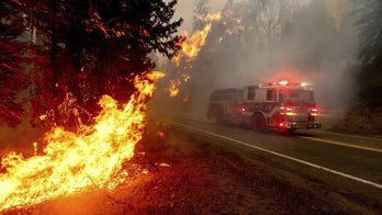 Rescue effort underway for over 60 people trapped by California Creek Fire