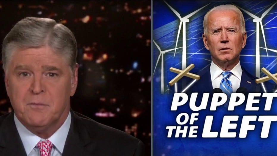 汉尼斯(Hannity)按执行顺序剥夺拜登(Biden)的管理权, 'propagandist' promise of unity