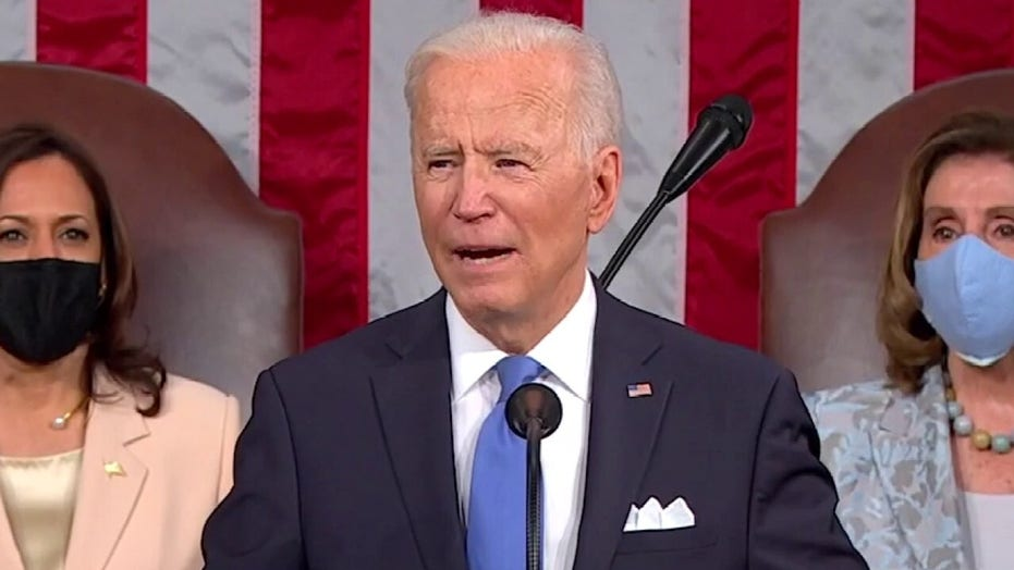 'So much for being a moderate': 'The Five' react to Biden's address
