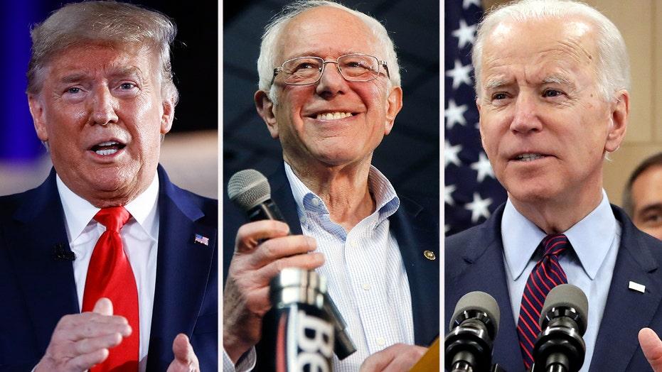 President Trump weighs facing Sanders or Biden in 2020