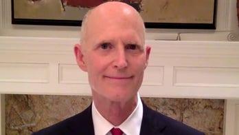Sen. Rick Scott on battle over coronavirus bailouts for blue states