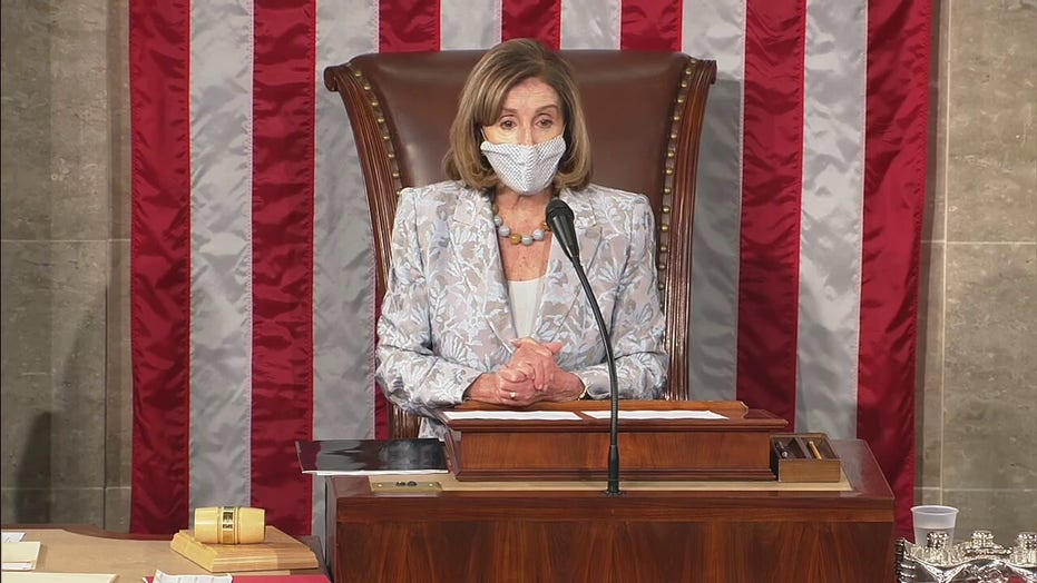 Pelosi reminds lawmakers about social distancing, mask requirements after Day 1 controversies