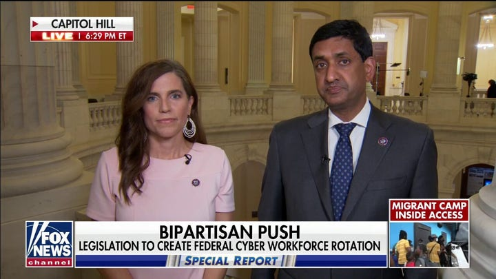 Reps. Mace and Khanna outline rare bipartisan bill for national security