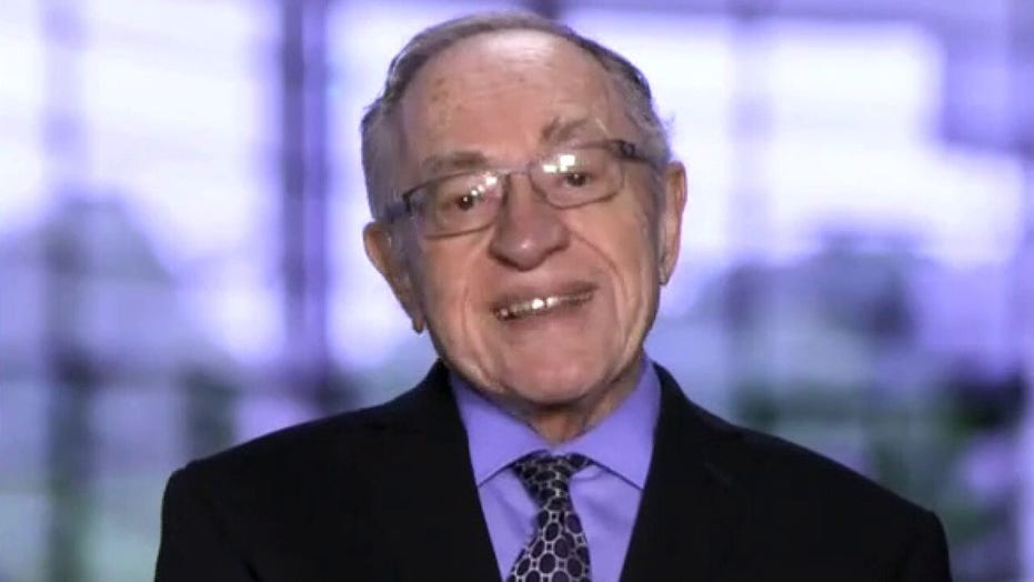 Dershowitz: Trump has 'constitutional paths' to pursue in court cases, will likely come up short