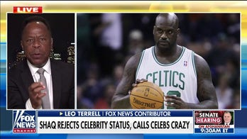 Leo Terrell: Shaquille O'Neal sent a 'coded message' to the celebrity left