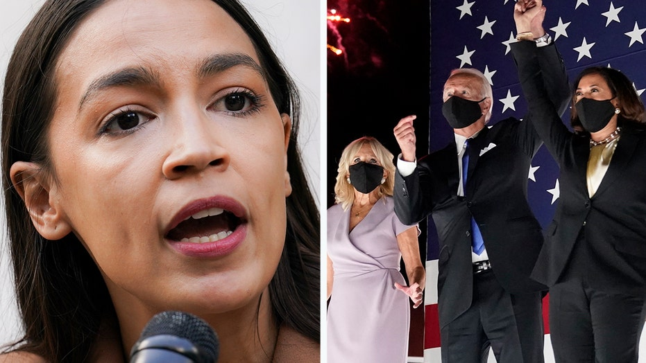 AOC claims young voters will choose Biden because they can influence him more easily