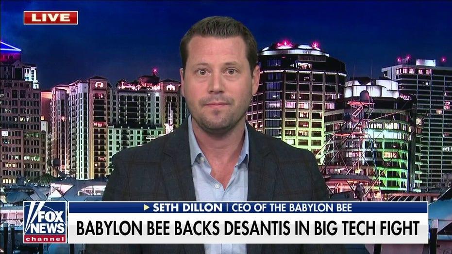 Babylon Bee backs Gov. Ron DeSantis in fight against Big Tech censorship