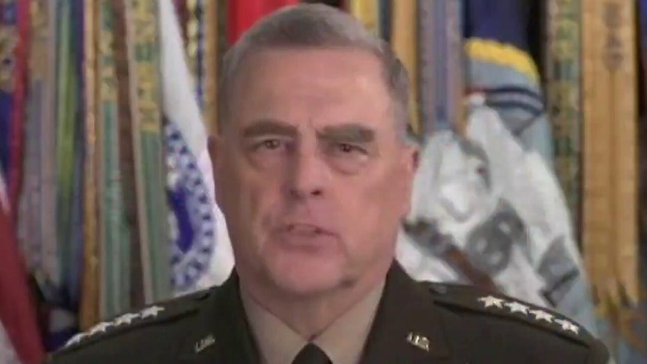 Joint Chiefs Chairman Milley says he was 'wrong to accompany Trump to park'