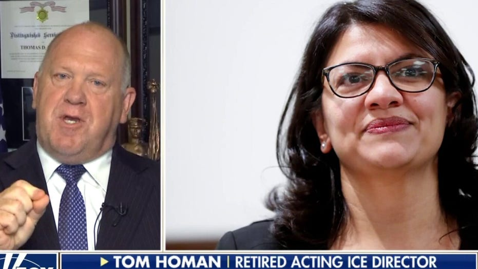 Homan goes off on Rashida Tlaib's new 'defund' push: 'Single dumbest thing I've heard' from any lawmaker