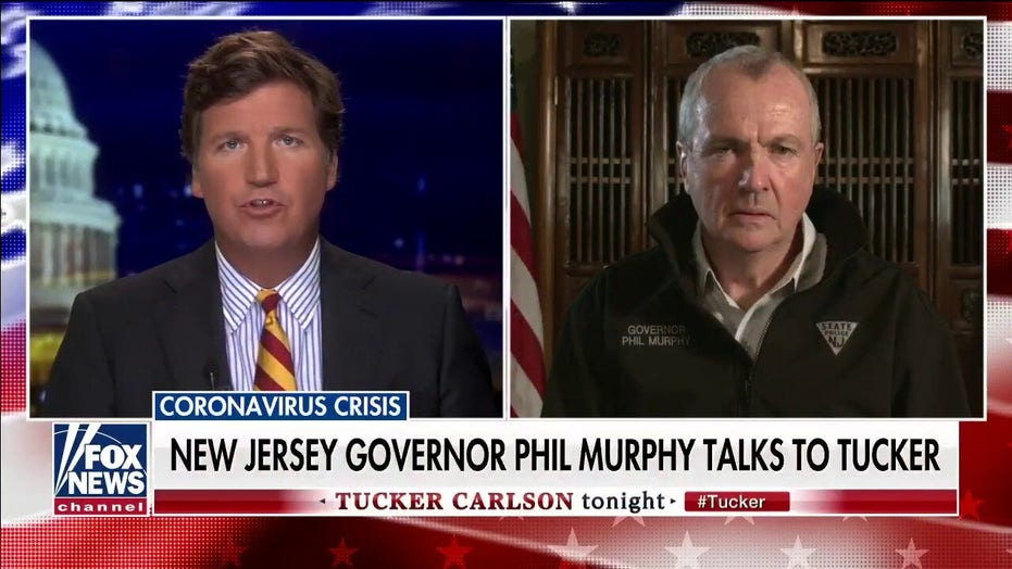 NJ Gov. Murphy tells Tucker his rationale for shutting down the Garden State