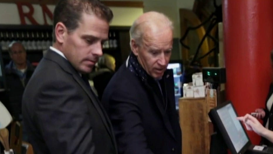 Joe Biden mocks questions about Hunter as mainstream media remains largely uninterested