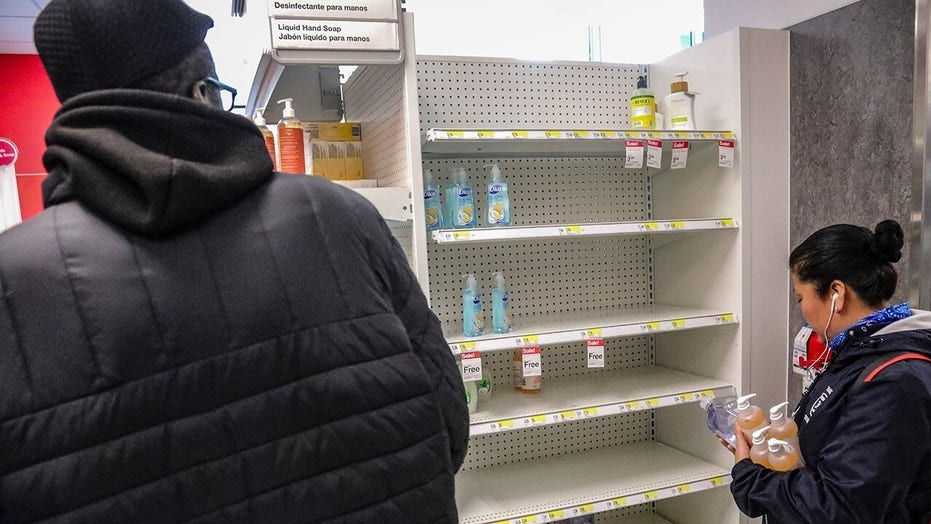 Stores struggling to keep up with demand for coronavirus supplies