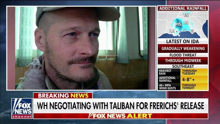 Biden under pressure to bring Taliban hostage home: 'We don't leave prisoners of war behind'