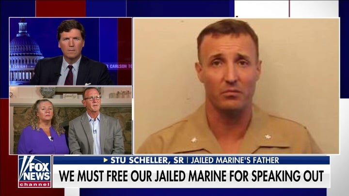 Father of jailed Marine, Stuart Scheller: 'His crime was speaking truth to power'
