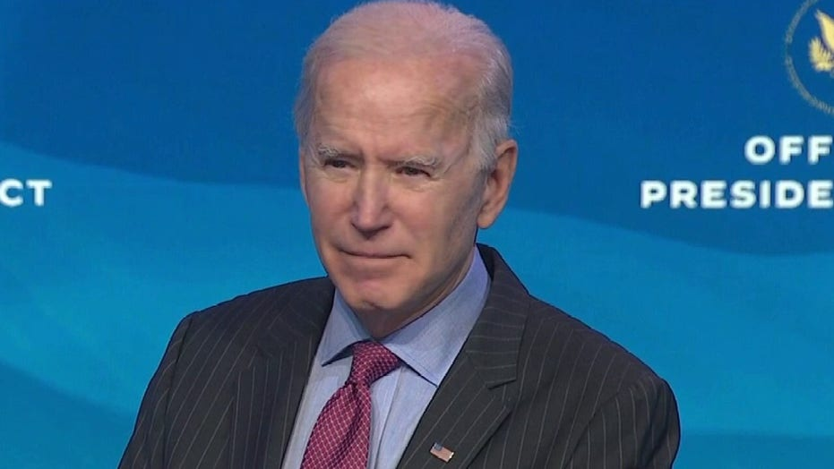 Biden says Cruz and Hawley are part of 'the big lie' while senators say they are being called Nazis