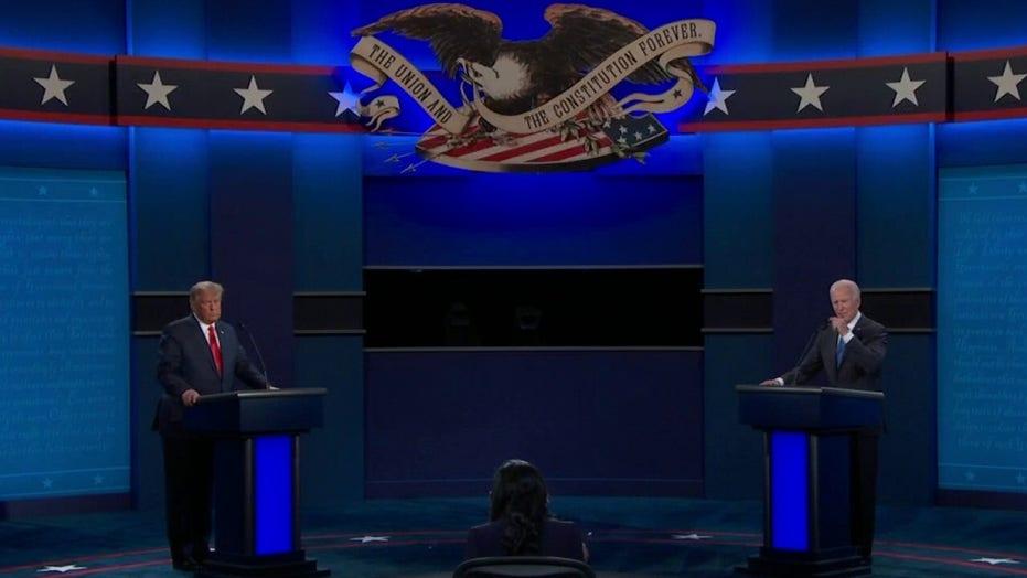 Second presidential debate between President Trump and Joe Biden