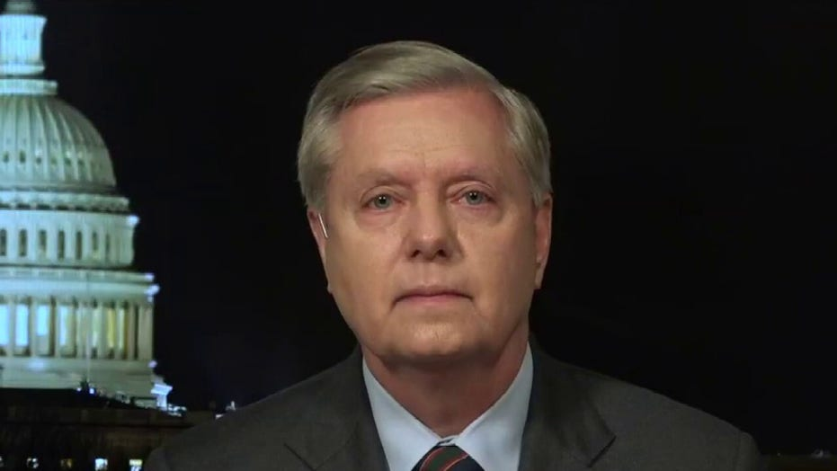 Sen. Lindsey Graham says the coronavirus has padlocked the US economy
