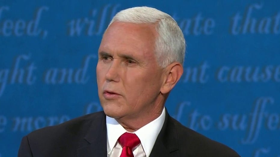 Mike Pence challenges Kamala Harris: 'Obamacare was a disaster'