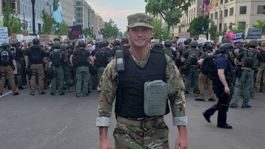 Pete Hegseth deploys with DC National Guard amid George Floyd unrest