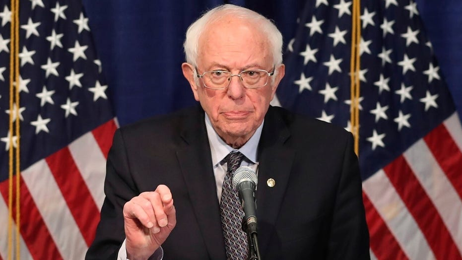 Sanders staying in primary race after disappointing 'mini Super Tuesday'