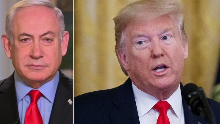 Netanyahu talks Trump's Middle East peace plan on 'Fox and Friends'