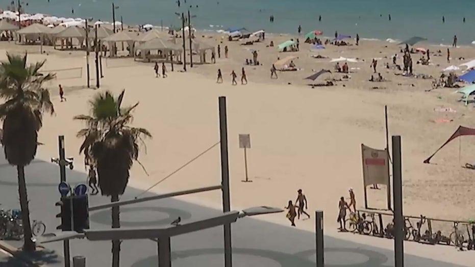 Reporter's Notebook: Hamas rockets hit Tel Aviv Saturday at beach